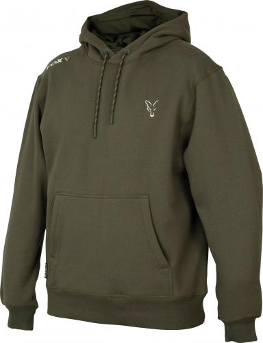 FOX Collection Green & Silver Hoodie - roz. L (CCL009)