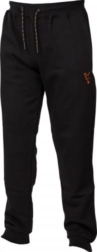 FOX Collection Orange & Black Joggers - roz. S (CCL013)