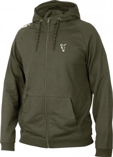 FOX Collection Green & Silver Lightweight Hoodie - roz. L (CCL033)