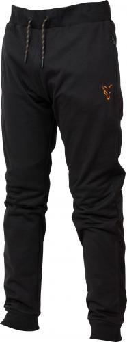 FOX Collection Orange & Black Lightweight Joggers - roz. S (CCL037)