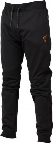 FOX Collection Orange & Black Lightweight Joggers - roz. XL (CCL040)