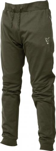 FOX Collection Green & Silver Lightweight Joggers - roz. M (CCL044)