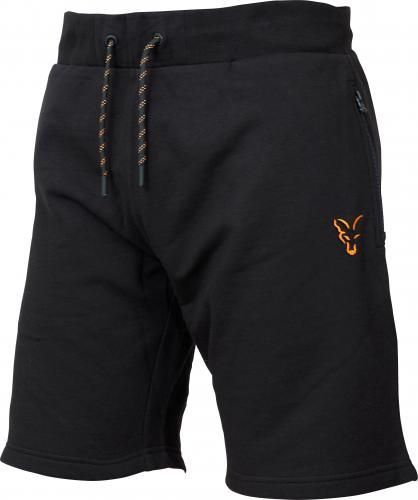 FOX Collection Orange & Black Lightweight Shorts - roz. S (CCL049)