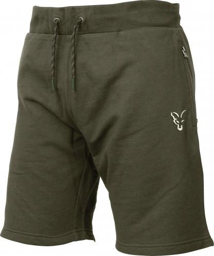 FOX Collection Green & Silver Lightweight Shorts - roz. S (CCL055)