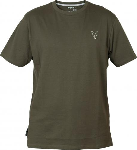 FOX Collection Green & Silver T-shirt - roz. XXL (CCL071)