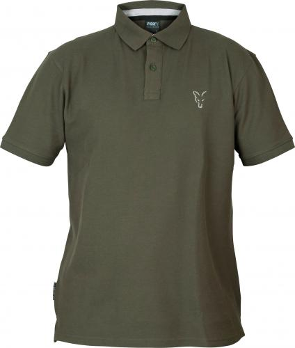 FOX Collection Green & Silver Polo Shirt - roz. L (CCL081)