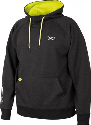 Fox Matrix Minimal Black Marl Hoody - roz. M (GPR204)