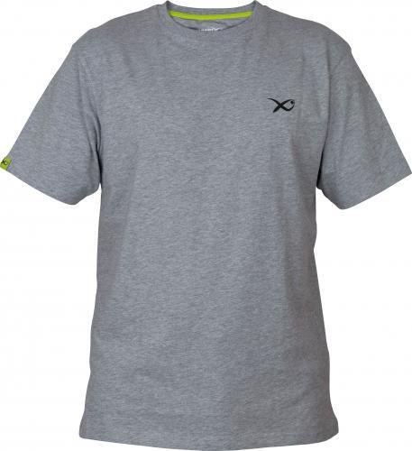 Fox Matrix Minimal Light Grey Marl T-Shirt - roz. L (GPR199)