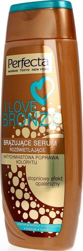 Perfecta PERFECTA_I Love Bronze brązujące serum rozświetlające do każdej karnacji 250ml