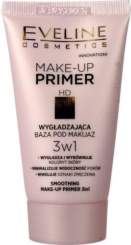 Eveline EVELINE_Make Up Primer 3w1 wygładzająca baza pod makijaż 30ml