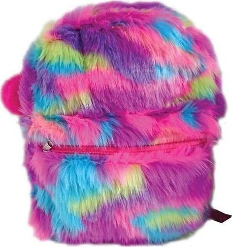 Stnux Plecak kolorowe futro STN 5270