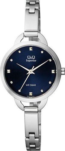 Zegarek Q&Q Zegarek QQ S327-202 Damski Biżuteryjny uniwersalny