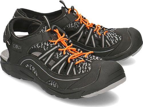 Campagnolo (CMP) Sandały męskie Adhara Hiking czarne r. 45 (39Q9547 U901)