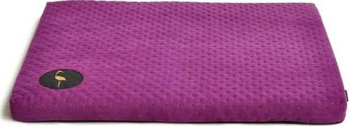 Lauren Design Lauren design legowisko DEMI - materac pikowany dla małego psa, kolor fioletowy 50/40cm uniwersalny