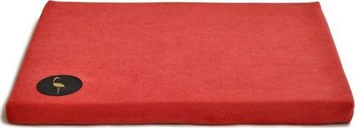 Lauren Design Lauren design legowisko DEMI - materac dla psa 70/60cm czerwony pikowany uniwersalny
