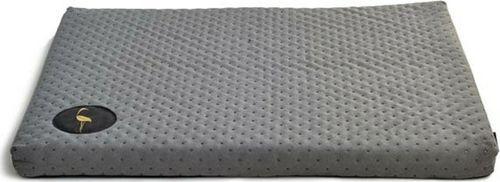 Lauren Design Lauren design legowisko DEMI - materac pikowany dla psa, kolor szary 100/80cm uniwersalny