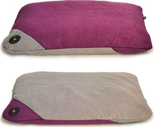 Lauren Design Poduszka dla psa Frida fioletowo-szara 70/50cm