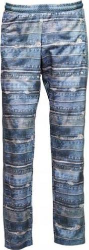 Adidas Spodnie męskie Denim Print Tp niebieskie r. S (M66623)