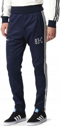 Adidas Spodnie męskie 83-C Trackpant granatowe r. S (BK5316)