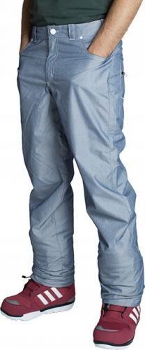 Adidas Spodnie snowboardowe Denim niebieskie r. XS (O04191)
