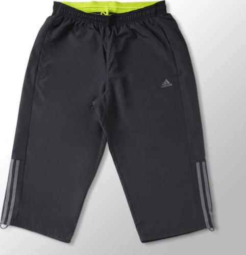 Adidas Spodnie męskie Base 3S Pant 3/4 szare r.  S (S21959)