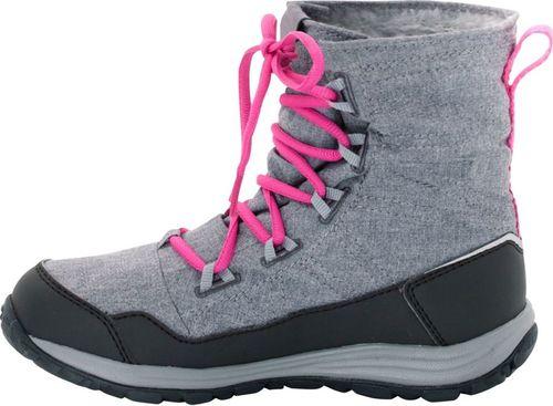 Jack Wolfskin Buty dziecięce Portland Boot G Phantom szare r. 32 (4024951-6350)