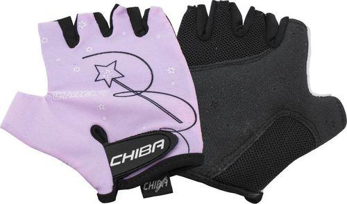 Chiba Rękawiczki dziecięce Chiba Girls różowe M