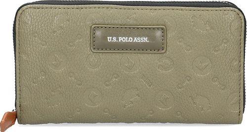 U.S. Polo ASSN U.S. Polo Assn Blue Water Zip - Portfel Damski - BEUBW0407WVP700 Uni