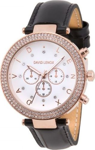 Zegarek David Lenox Rose Gold / Black DL0230