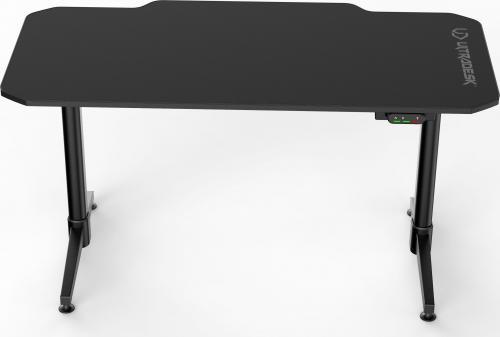Biurko Ultradesk elektryczne gamingowe LEVEL Czarne
