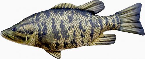 Gaby Poduszka Ryba Bass małogębowy 35cm
