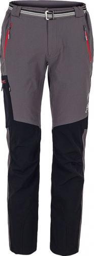 Milo Spodnie męskie Vino Grey/Black Red Zip r. L