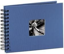 Hama ALBUM FINE ART 24X17/50 BŁĘKITNY CZARNE KARTKI (1136770000)
