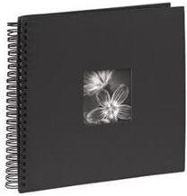 Hama Album spiralny Fine Art, 34x32/ 50, czarny (901400000)