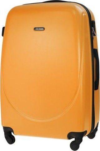 1cb42411ace6c Solier Mała walizka kabinowa 55x35x22cm ABS STL856 pomarańczowa