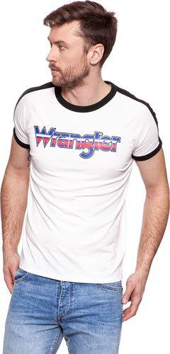 Wrangler WRANGLER RAGLAN TEE VAPOROUS GRAY W7B77FKWV L