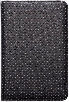 Pokrowiec PocketBook Skórzane etui do modeli 622/623/624 Czarno-szare pikowane