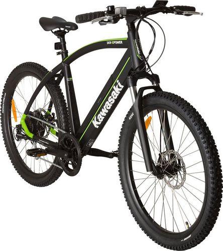 Kawasaki Kawasaki Rower Electric Trekking MTB | KX-E-MTBFRONT-RBA | Gwarancja | Faktura 23% | DARMOWA DOSTAWA ! uniwersalny