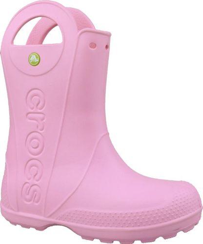 Crocs Kalosze dziecięce Handle It Rain Boot Carnation r. 33/34