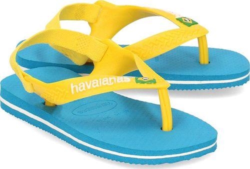 Havaianas Havaianas Brasil Logo - Sandały Dziecięce - 4140577 0212 21
