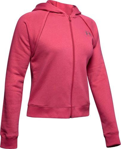 Under Armour Bluza damska Rival Fleece Fz różowa r. M (1328836-671)