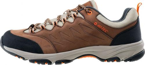 Hi-tec Buty męskie Beston Brown/Clay/Orange r. 46
