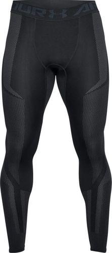 Under Armour Legginsy męskie Threadborne Seamless Legging czarne r. XL (1320199-001)