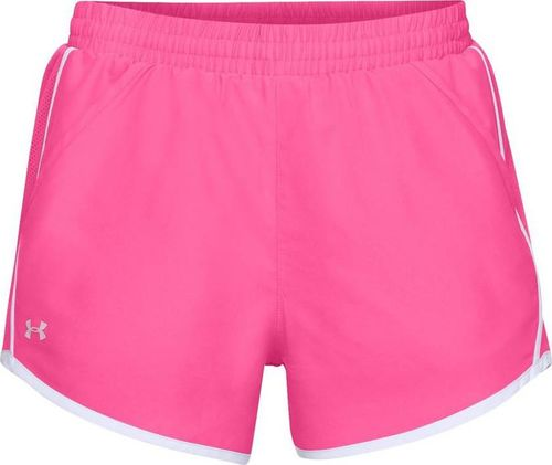 Under Armour Spodenki damskie Fly By Short 3'' różowe r. S (1297125-641)