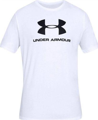 Under Armour Koszulka męska Sportstyle Logo Tee biała r. XXL (1329590-100)