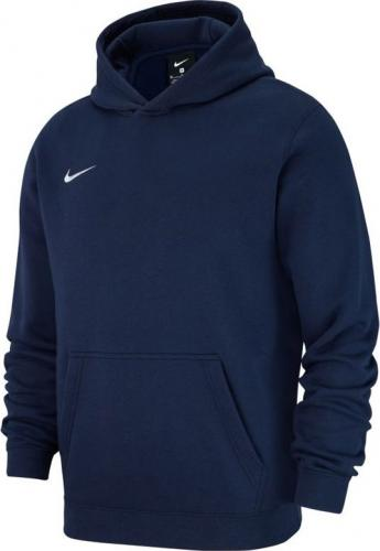 Nike Bluza dziecięca Hoodie Y Team Club 19 granatowa r. 147-158cm (AJ1544 451)