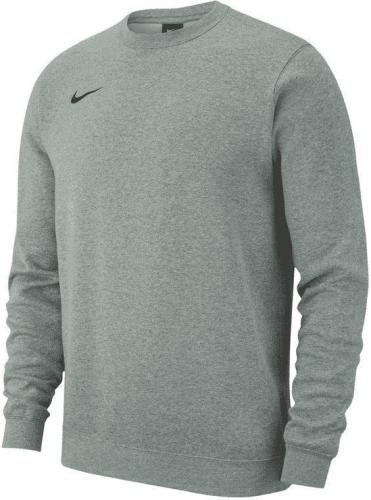 Nike Bluza dziecięca Crew Y Team Club 19 szara r. 147-158 (AJ1545 063)