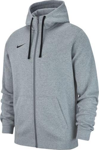 Nike Bluza dziecięca Hoodie FZ Y Team Club 19 szara r. 137-147cm (AJ1458 063)