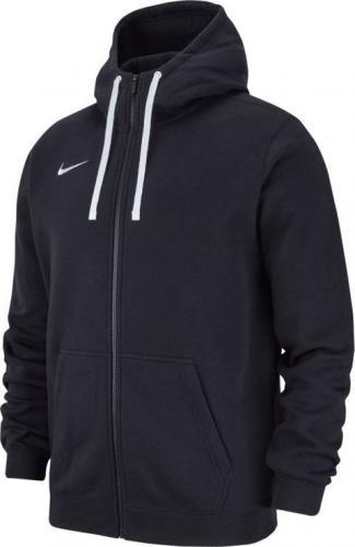 Nike Bluza dziecięca Hoodie FZ Y Team Club 19 czarna r. 158-170cm (AJ1458 010)
