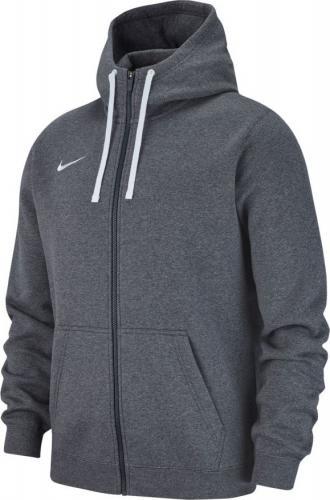 Nike Bluza dziecięca Hoodie FZ Y Team Club 19 grafitowa r. 128-137cm (AJ1458 071)